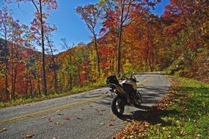 Auf zwei Rädern sicher durch den Herbst