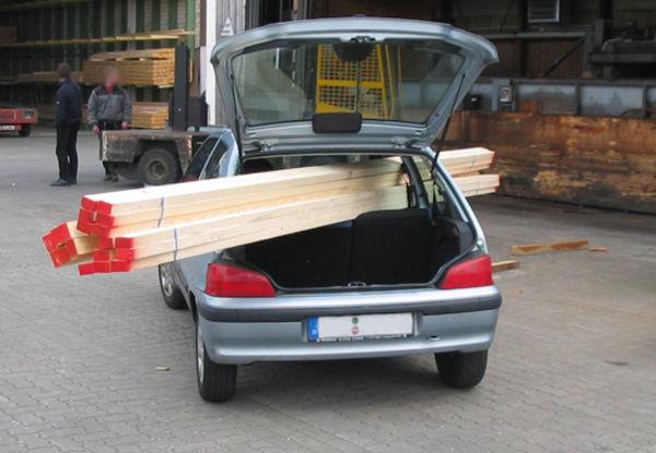Ladungssicherung: Ladung im Auto richtig verstauen